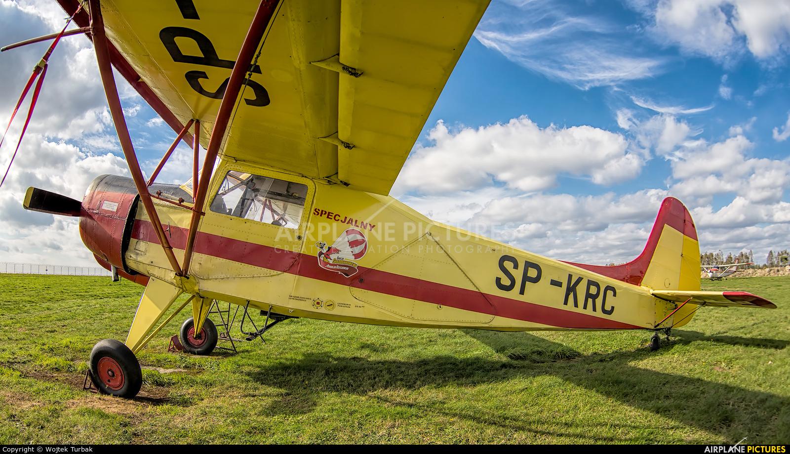 Aeroklub Rzeszowski SP-KRC aircraft at Rzeszów-Jasionka