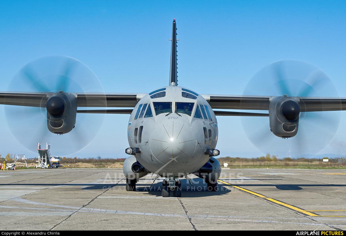 Romania - Air Force 2707 aircraft at Satu-Mare