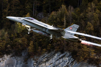 J-5021 - Switzerland - Air Force McDonnell Douglas F-18C Hornet