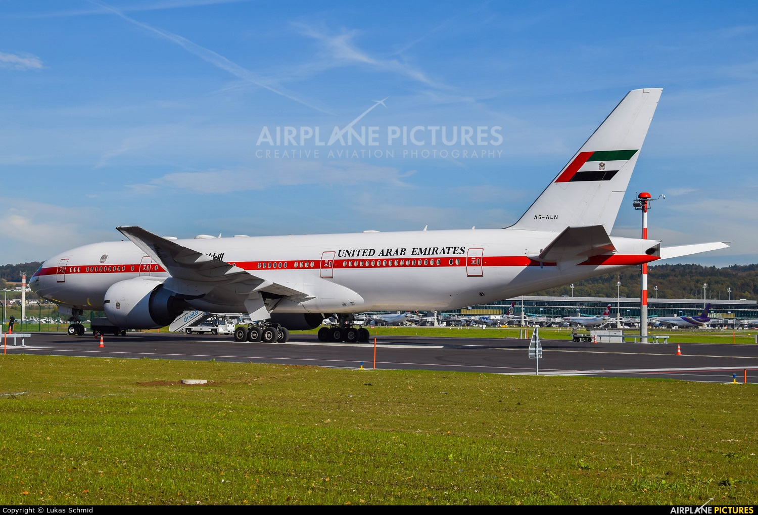 United Arab Emirates - Government A6-ALN aircraft at Zurich