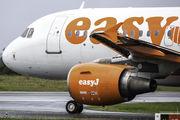 G-EZIV - easyJet Airbus A319 aircraft