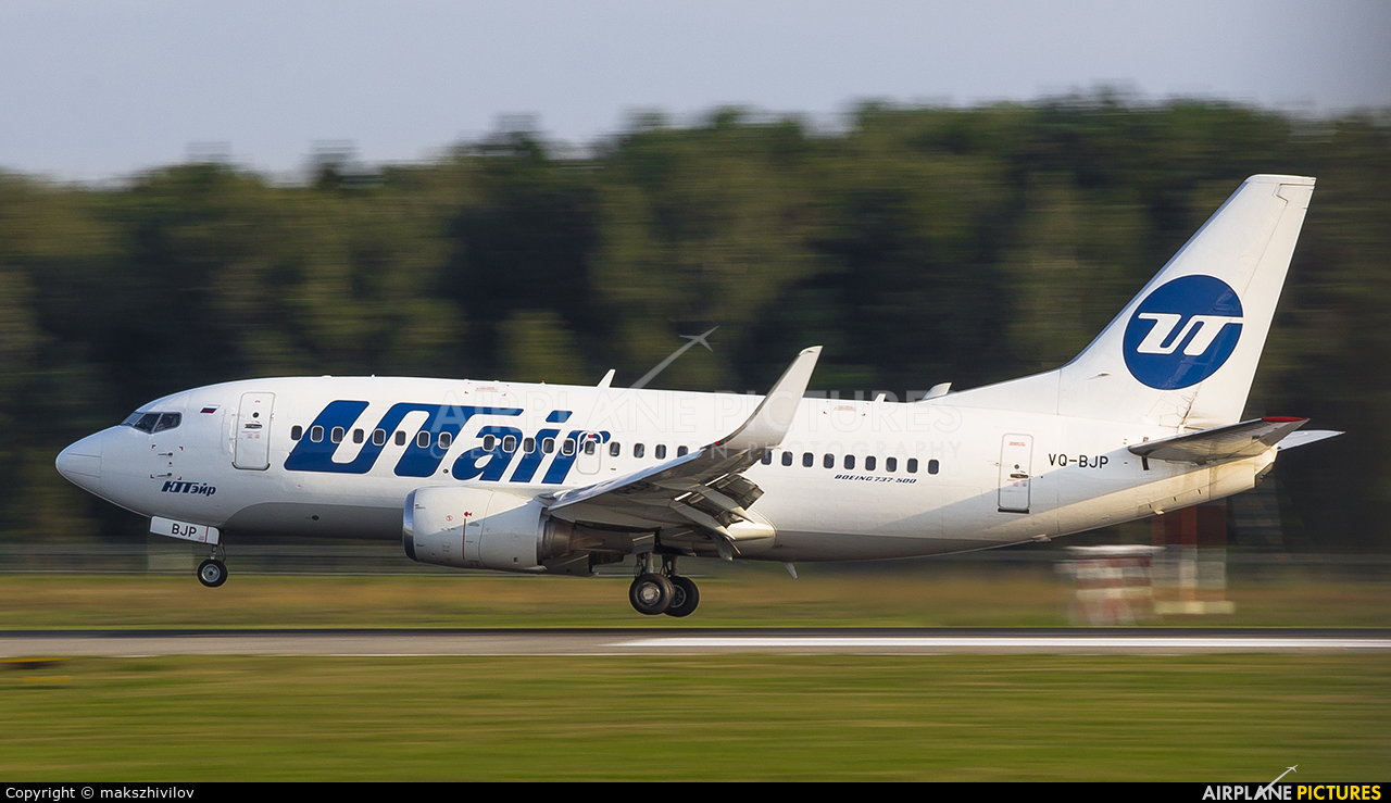 UTair VQ-BJP aircraft at Moscow - Vnukovo
