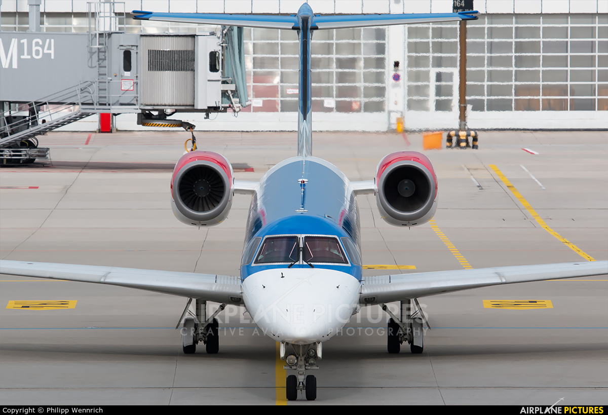 BMI Regional G-RJXB aircraft at Munich