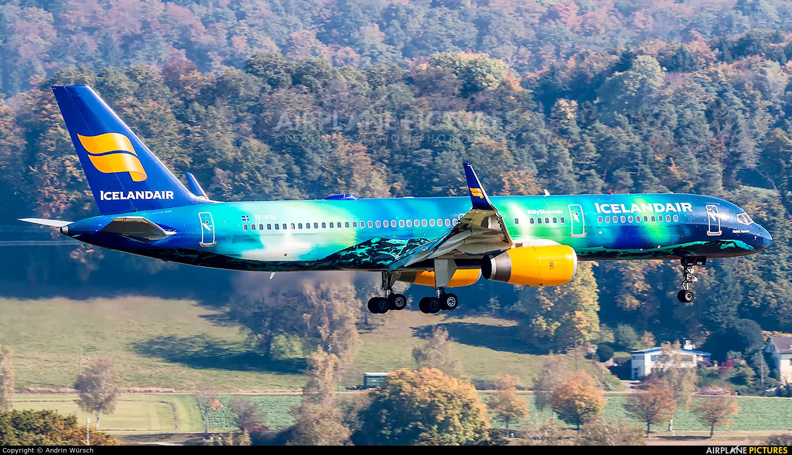 Icelandair TF-FIU aircraft at Zurich