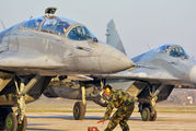 18301 - Serbia - Air Force Mikoyan-Gurevich MiG-29UB aircraft