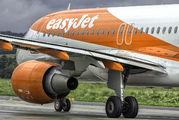 G-EZPU - easyJet Airbus A320 aircraft
