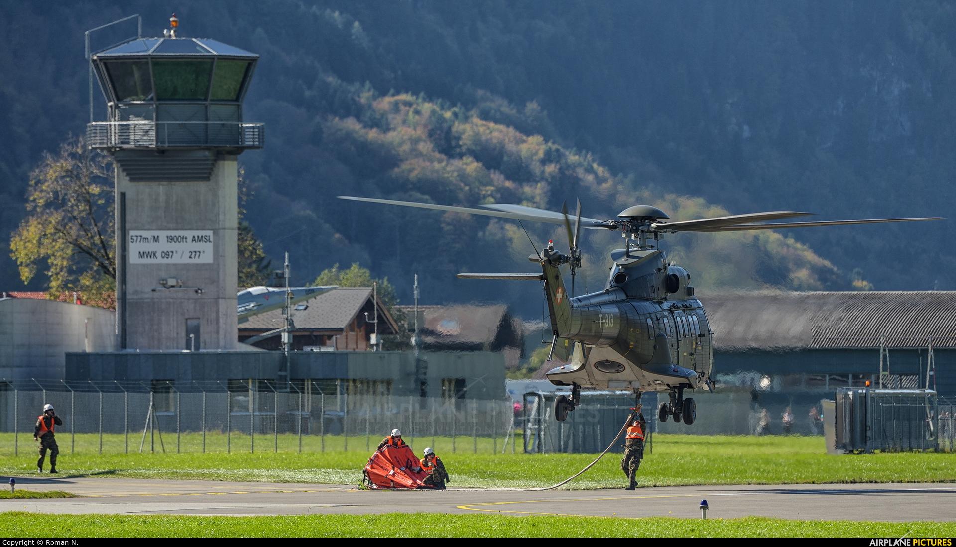 Switzerland - Air Force T-313 aircraft at Meiringen