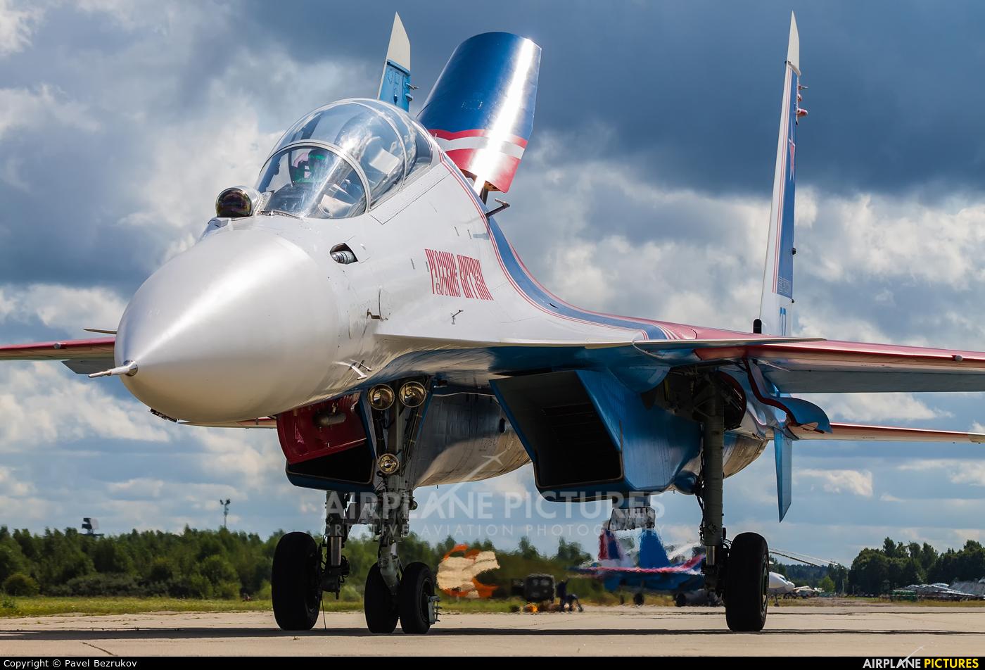 """Russia - Air Force """"Russian Knights"""" RF-81722 aircraft at Kubinka"""