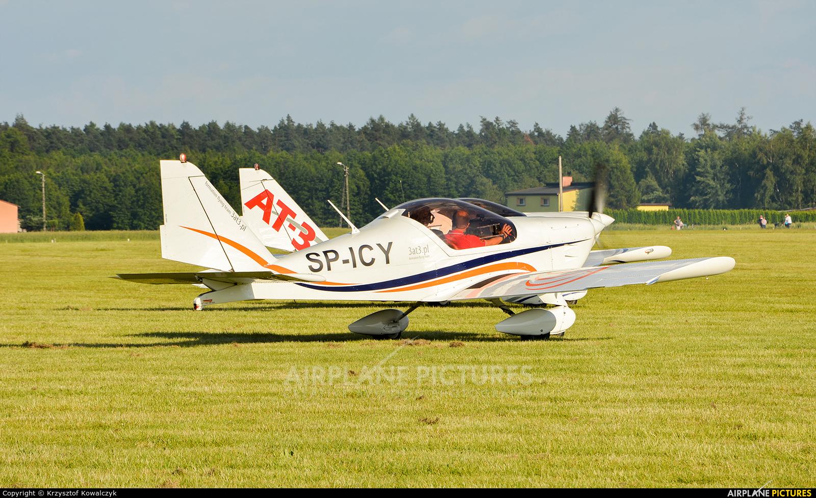 3AT3 Formation Flying Team SP-ICY aircraft at Rybnik - Gotartowice