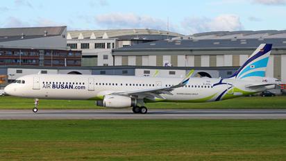 D-AYAJ - Air Busan Airbus A321