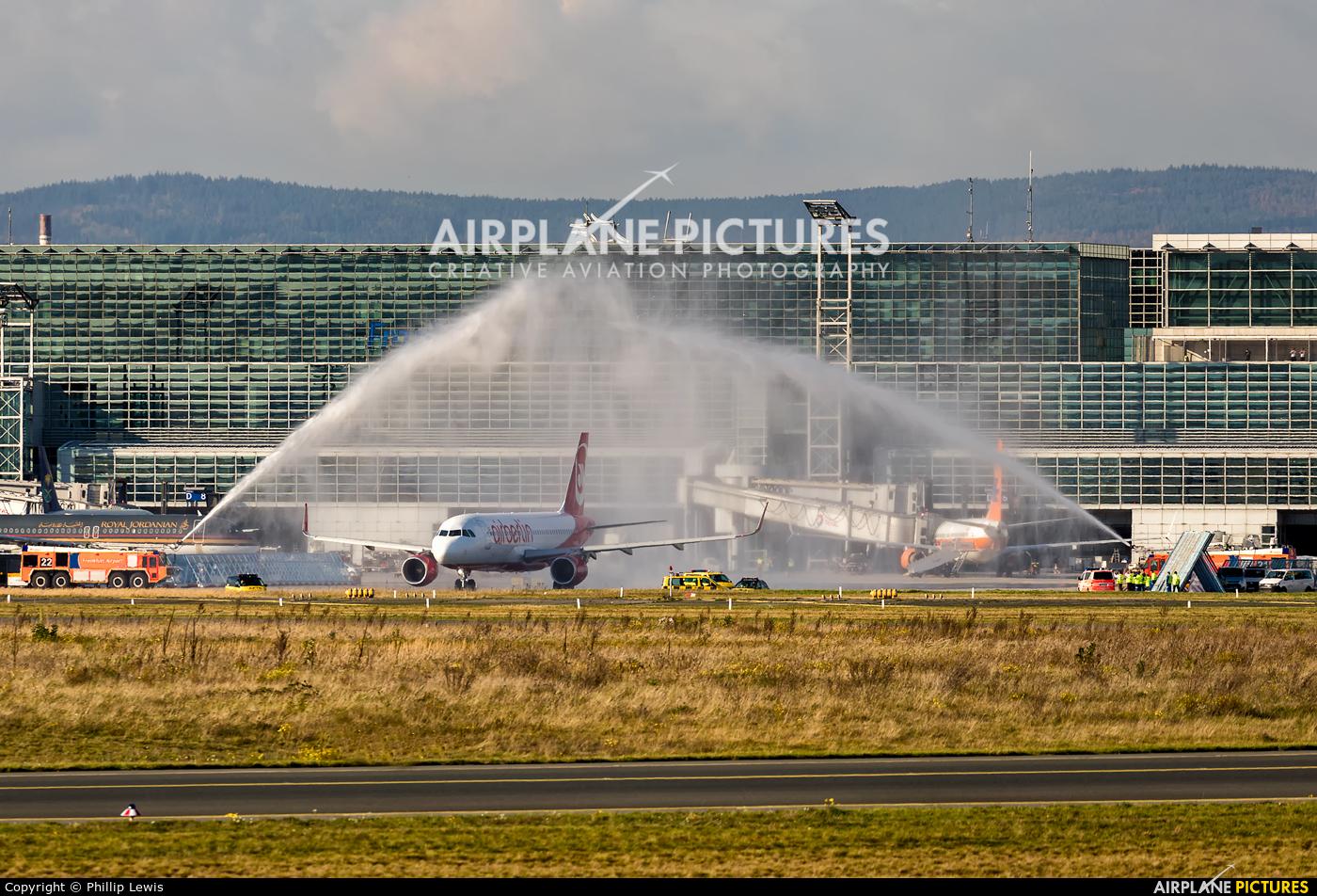 Air Berlin D-ABNQ aircraft at Frankfurt