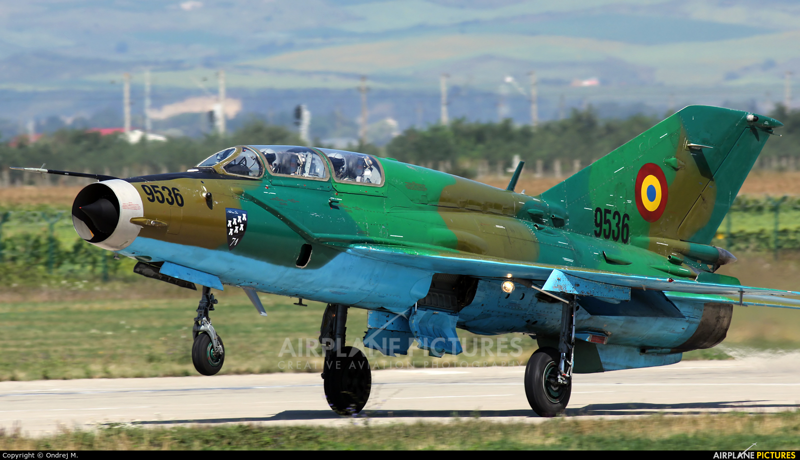 Romania - Air Force 9536 aircraft at Câmpia Turzii