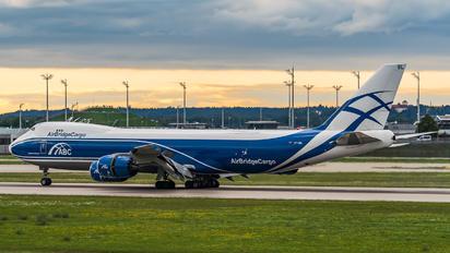 VP-BBL - Air Bridge Cargo Boeing 747-8F
