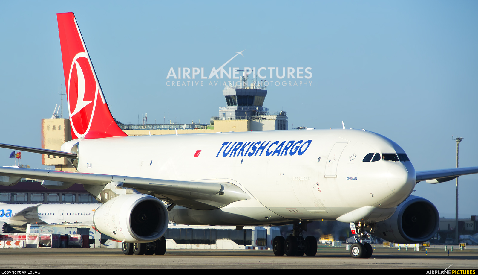 Turkish Cargo TC-JCI aircraft at Madrid - Barajas