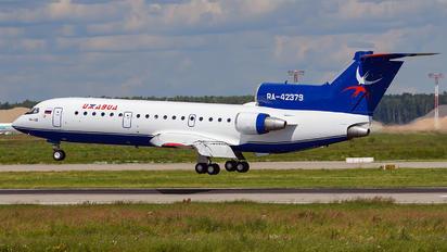 RA-42379 - Izhavia Yakovlev Yak-42