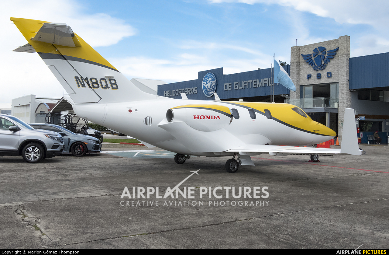 Honda Aerospace N18QB aircraft at Guatemala - La Aurora
