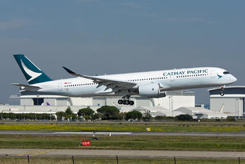 F-WZGT - Cathay Pacific Airbus A350-900