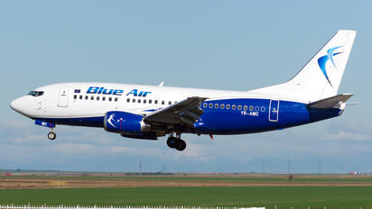 YR-AMC - Blue Air Boeing 737-500