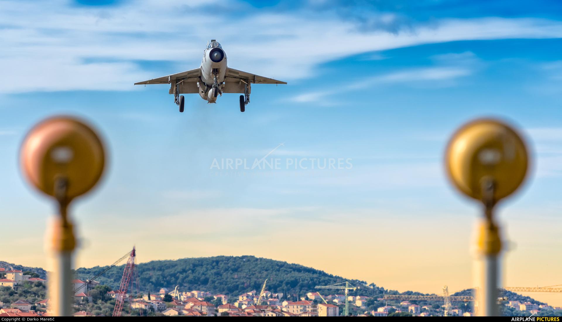 Croatia - Air Force - aircraft at Split - Kaštela
