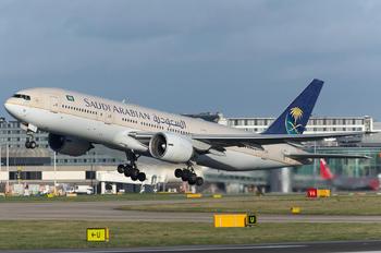 HZ-AKD - Saudi Arabian Airlines Boeing 777-200ER