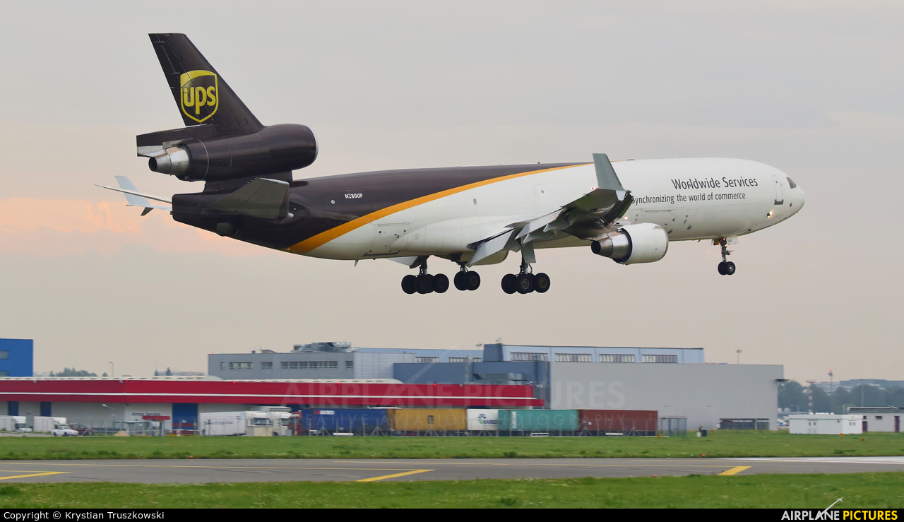 UPS - United Parcel Service N280UP aircraft at Warsaw - Frederic Chopin