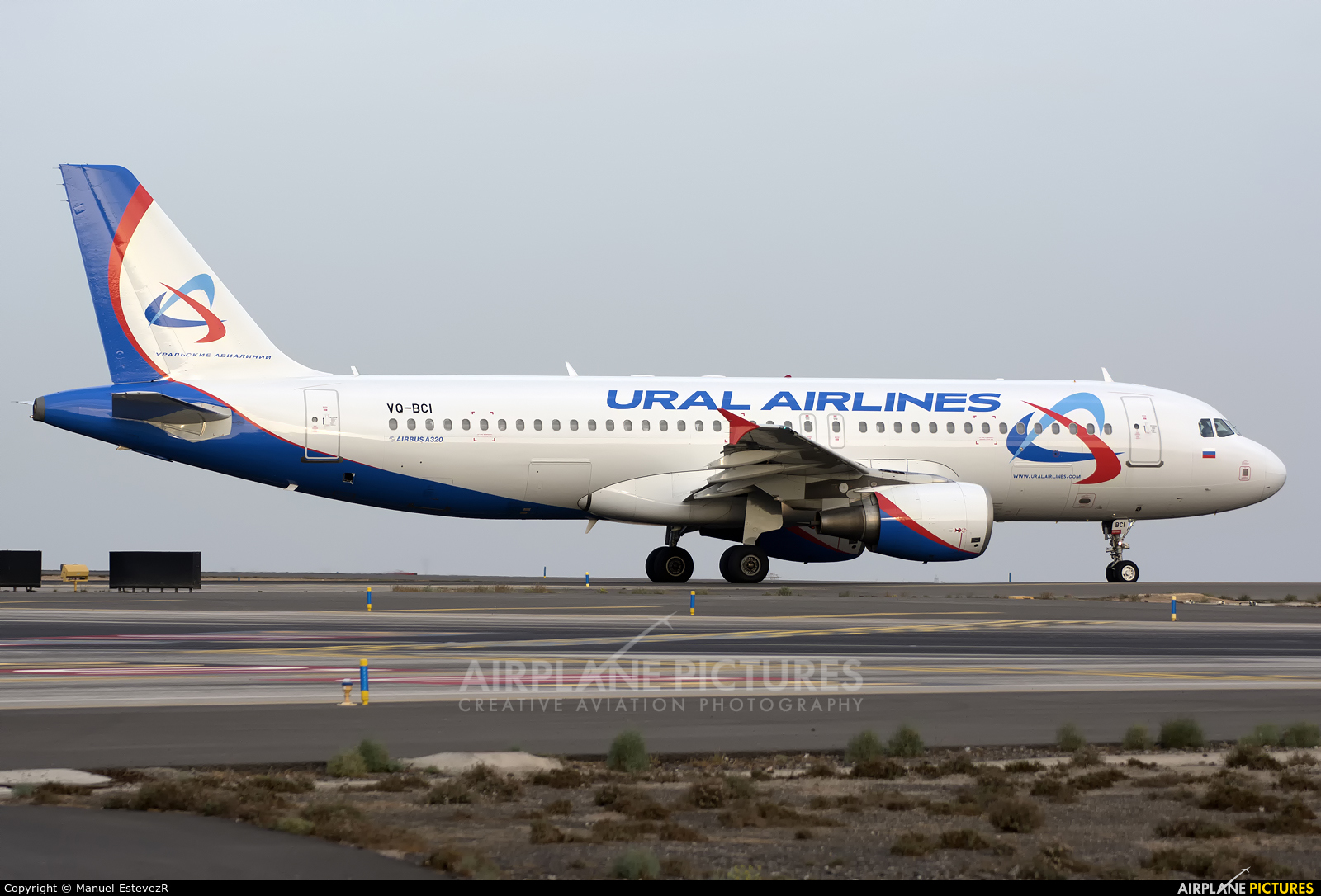 Ural Airlines VQ-BCI aircraft at Tenerife Sur - Reina Sofia