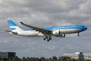 LV-GKO - Aerolineas Argentinas Airbus A330-200 aircraft