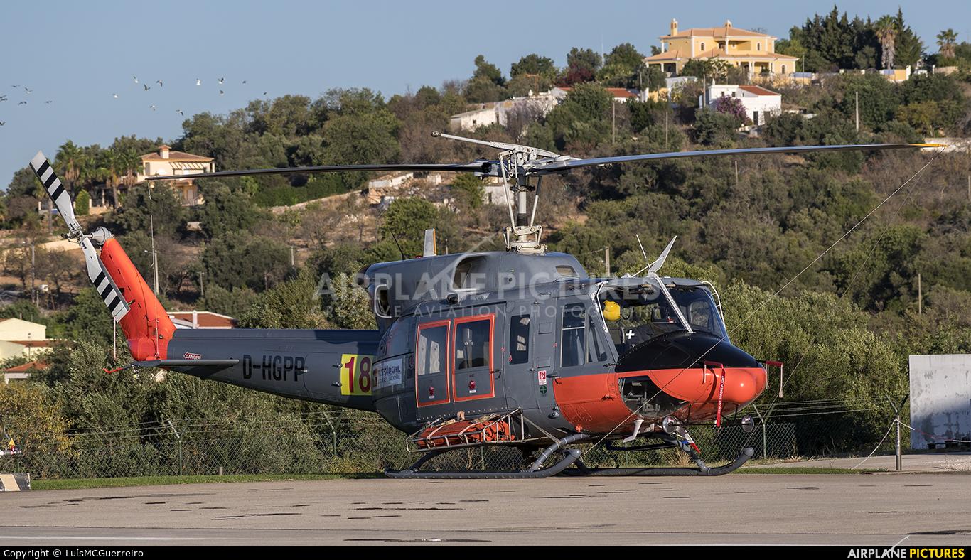 Agrarflug Helilift D-HGPP aircraft at Off Airport - Portugal