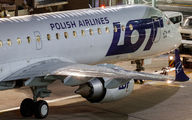 SP-LNF - LOT - Polish Airlines Embraer ERJ-195 (190-200) aircraft