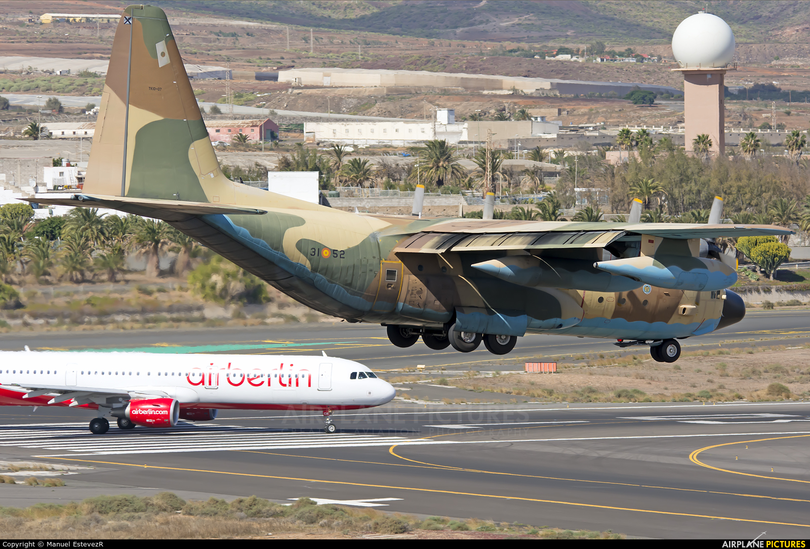 Spain - Air Force TK.10-07 aircraft at Aeropuerto de Gran Canaria