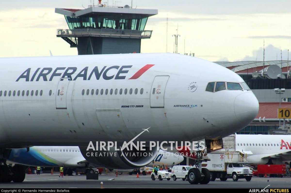 Air France F-GSQS aircraft at San Jose - Juan Santamaría Intl