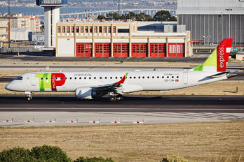CS-TTW - TAP Express Embraer ERJ-195 (190-200)