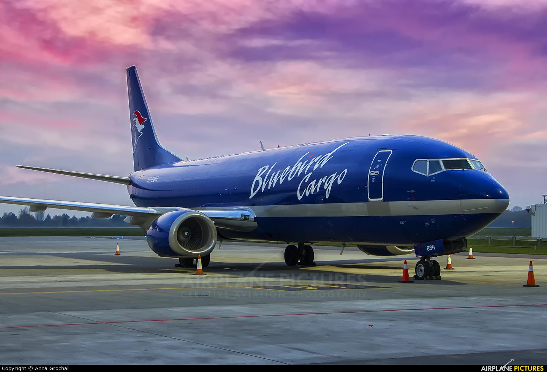 Bluebird Cargo TF-BBH aircraft at Warsaw - Frederic Chopin
