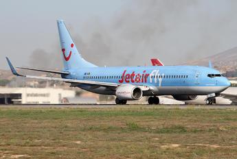 OO-JBG - Jetairfly (TUI Airlines Belgium) Boeing 737-800