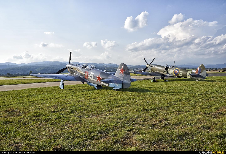 Private TE184 aircraft at Sliač