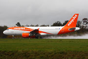G-EZTJ - easyJet Airbus A320 aircraft