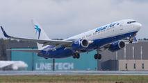 YR-BML - Blue Air Boeing 737-800 aircraft