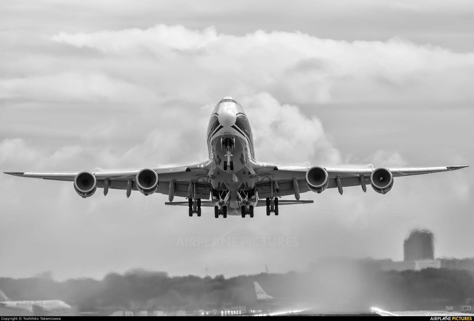 Air Bridge Cargo VQ-VBR aircraft at Amsterdam - Schiphol