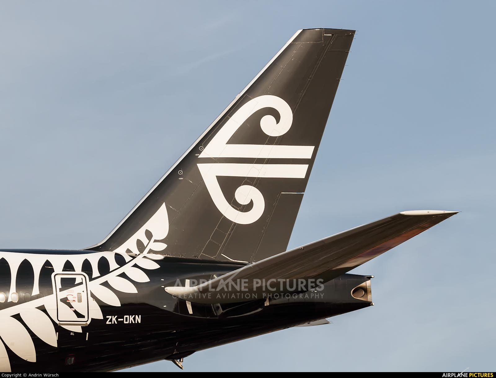 Air New Zealand ZK-OKN aircraft at London - Heathrow