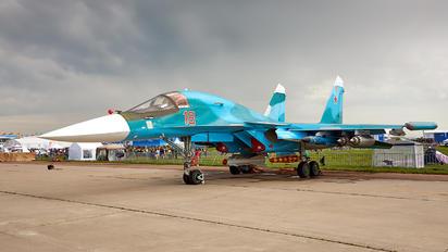 RF-95847 - Russia - Air Force Sukhoi Su-34