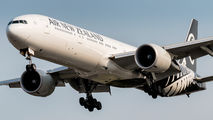 ZK-OKN - Air New Zealand Boeing 777-300ER aircraft
