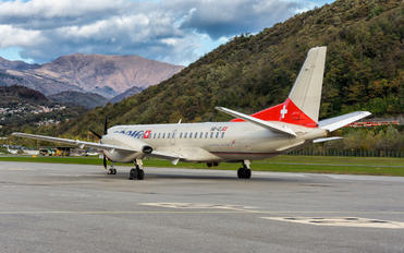 HB-IZJ - Adria Switzerland SAAB 2000