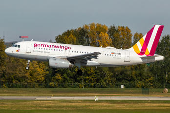 D-AGWV - Germanwings Airbus A319