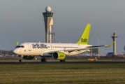YL-CSB - Air Baltic Bombardier CS300 aircraft