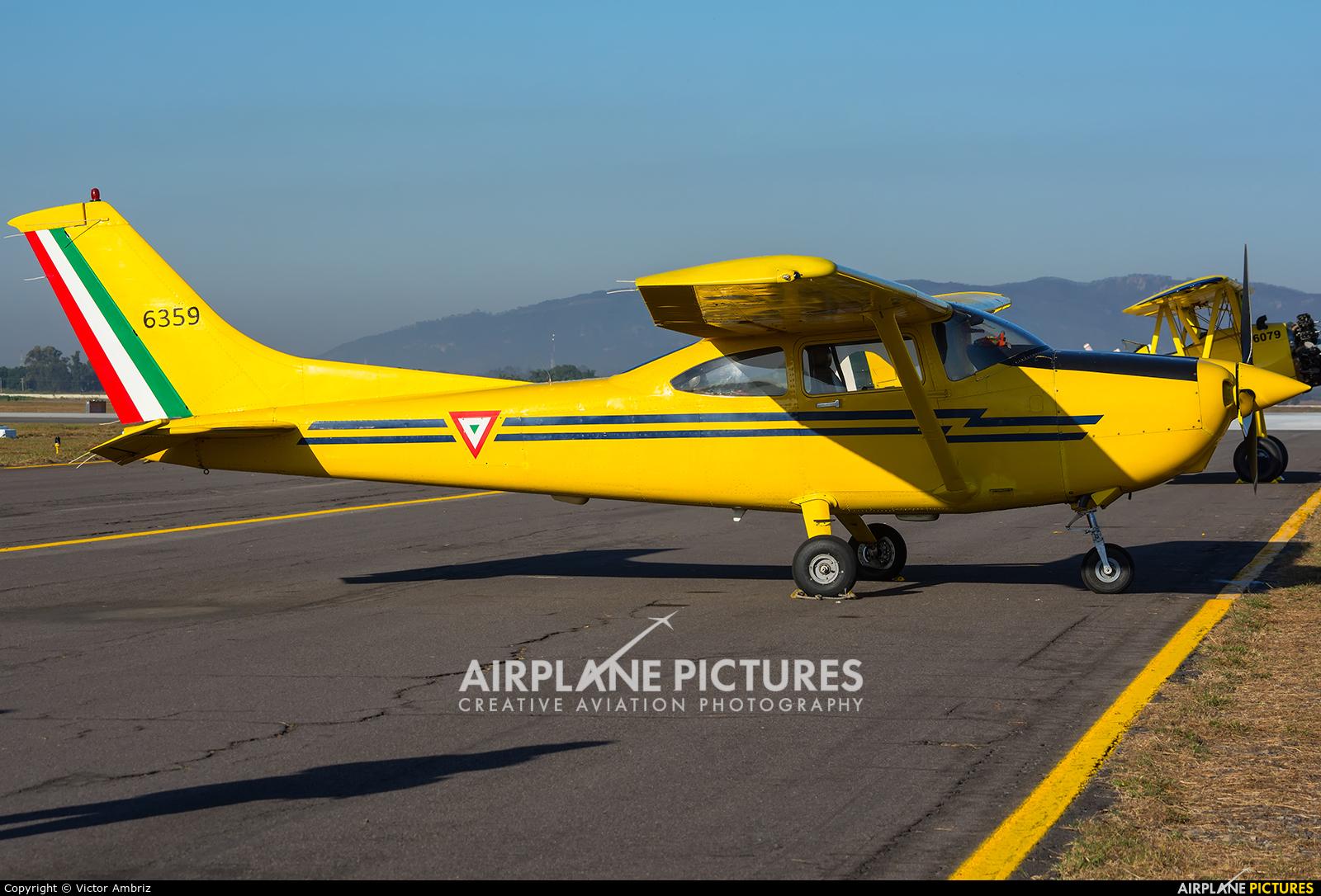 Mexico - Air Force 6359 aircraft at Zapopan AFB