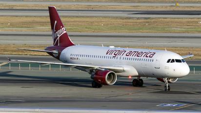N622VA - Virgin America Airbus A320
