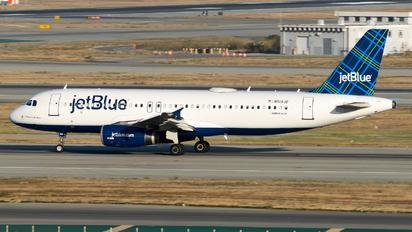 N519JB - JetBlue Airways Airbus A320
