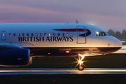 G-EUYI - British Airways Airbus A320 aircraft