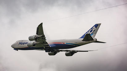 JA13KZ - Nippon Cargo Airlines Boeing 747-8