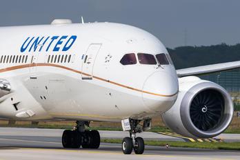 N27908 - United Airlines Boeing 787-8 Dreamliner